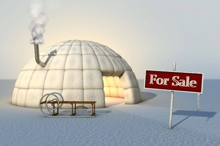 Igloo for sale Stock Photo - 5947102