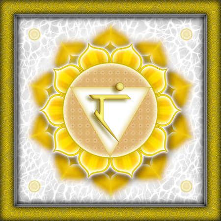 chakra: Manipura Chakra jaune