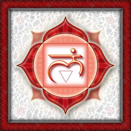 Chakra Muladhara Red