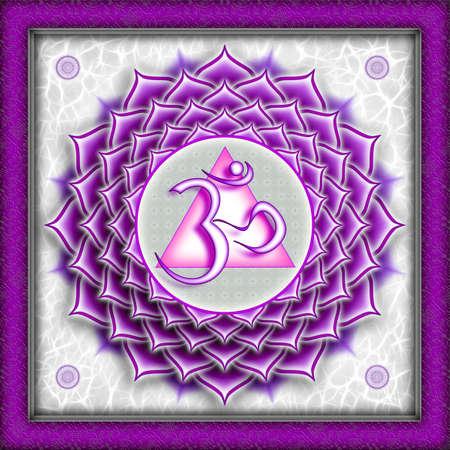 sahasrara: Chakra Sahasrara Purple