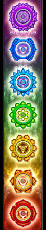 The Seven Main Chakras photo