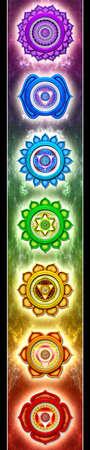 harmonizing: The Seven Main Chakras
