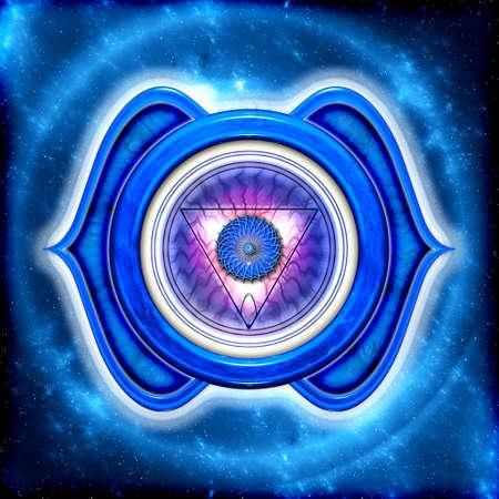chakra: Le chakra frontal