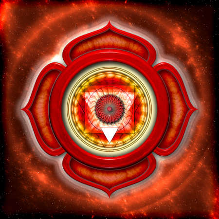 The Root Chakra Stock Photo - 12931899