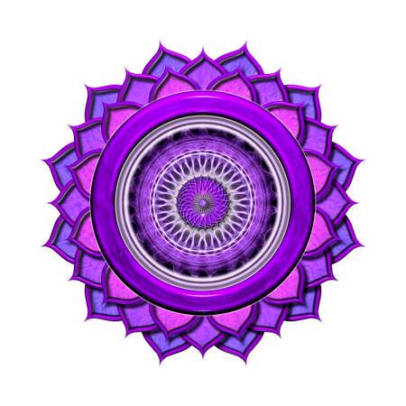 chakra: Le Chakra de la Couronne Isol�