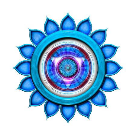 chakra: Le chakra de la gorge isol�