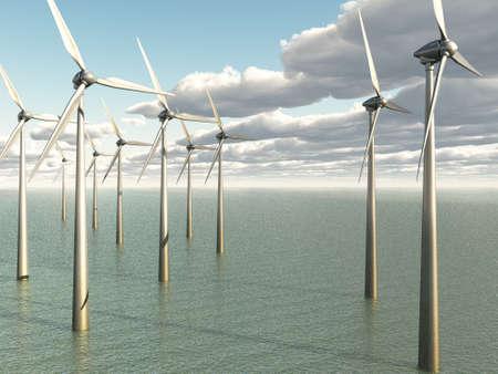 Wind Power Plant Stock Photo - 17954756