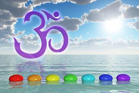 prana: Chakra Stones On The Sea