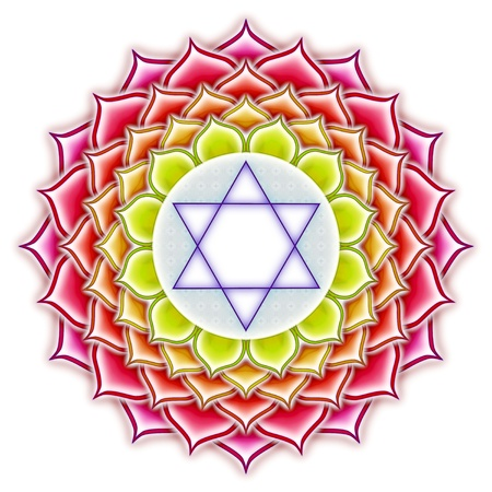 Chakra Mandala Lotus photo