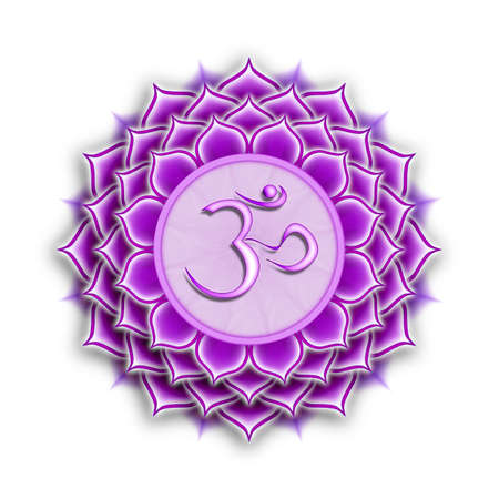 Crown Chakra Sahasrara  Stock Photo - 23305290