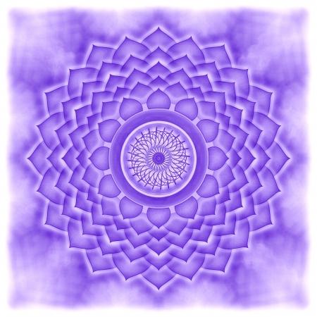 chakra: Mandala Le Chakra Couronne