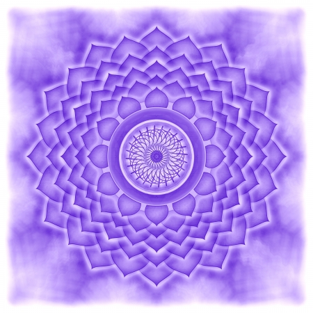 Mandala The Crown Chakra photo