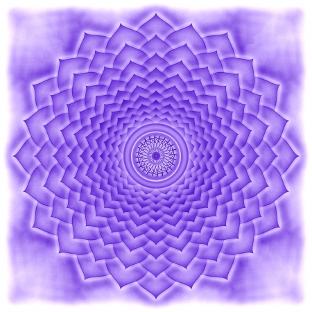 Crown Chakra Stock Photo