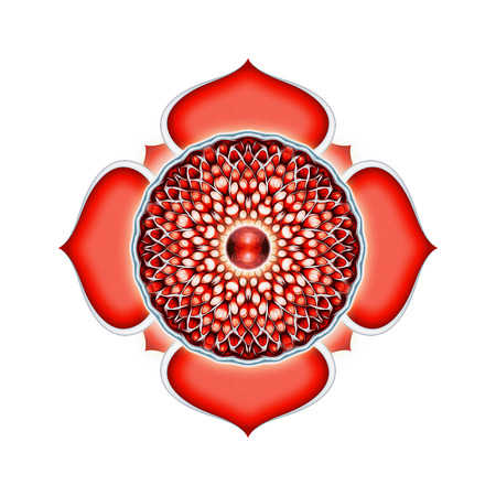 tantra: Base of Chakra Mandala