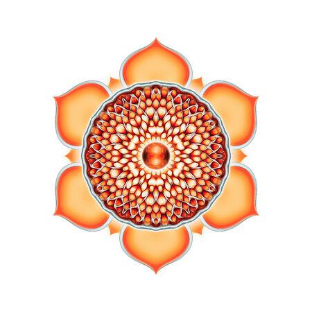 sacral: Sacraal van Chakra Mandala