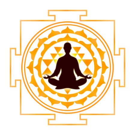 sri yantra: Meditation With Sri Yantra