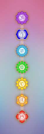 crown chakra: Seven Chakras
