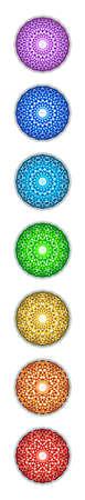 symbole: Points Chakra