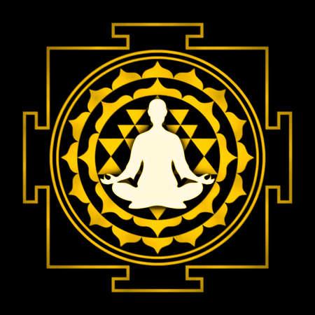 sri yantra: Sri Yantra Chakra Meditation