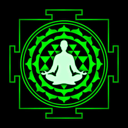 Sri Yantra Chakra Meditation photo