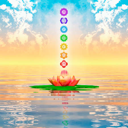 Sacred Lotus And Chakras