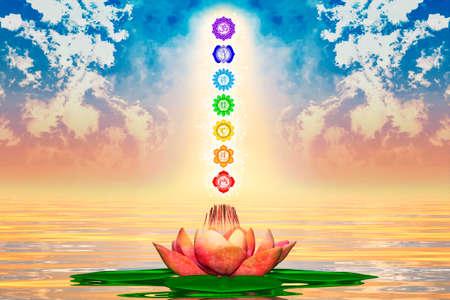 sacre coeur: Lotus Sacr� Et Chakras