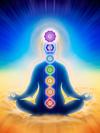 In Meditation With Chakras photo