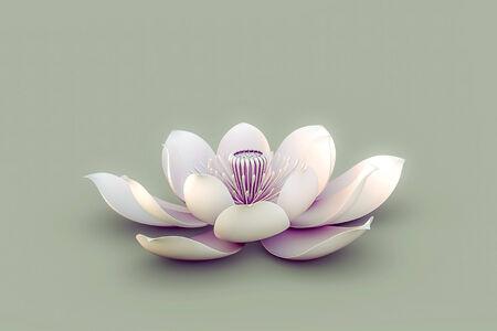 Lotus Flower Standard-Bild