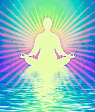 kundalini: In Meditation Stock Photo