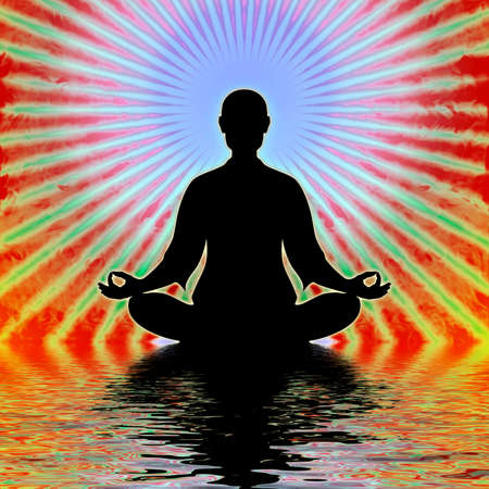 tantra: In Meditation Stock Photo