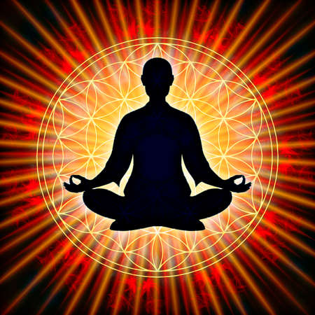 tantra: In Meditation Stock Photo