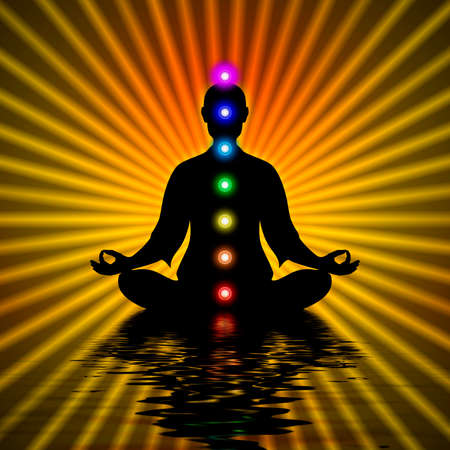 yogi aura: In Meditation With Chakras