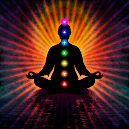 In Meditation With Chakras