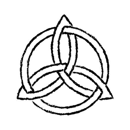 trinity: Triquetra Stock Photo