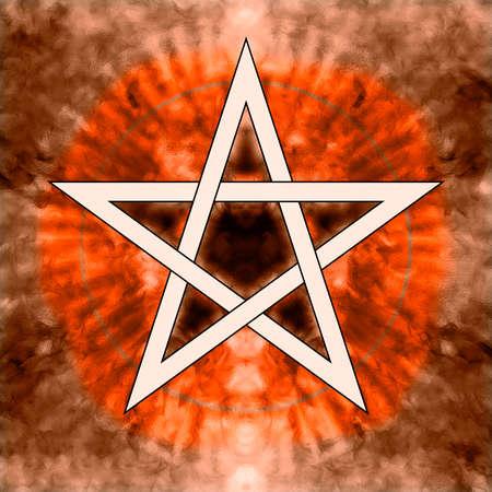 wicca: Pentagram