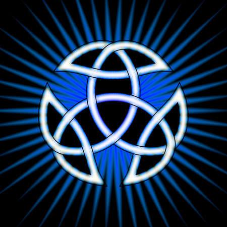 sacred trinity: Trinity Knot