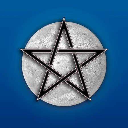 paganism: Pentagram Symbol