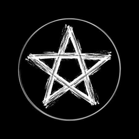 wicca: Pentagram Symbol