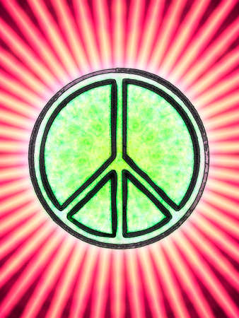 pacifist: Peace symbol