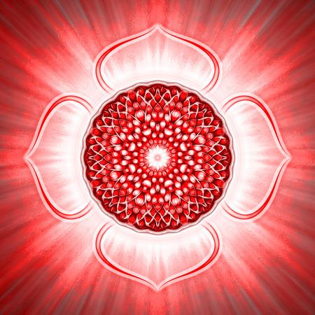 Otwarty korzeń Chakra Zdjęcie Seryjne