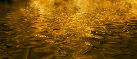 Golden Water Archivio Fotografico