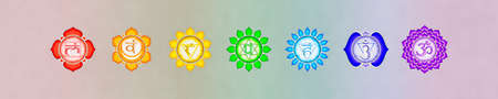 The Seven Chakras Banner