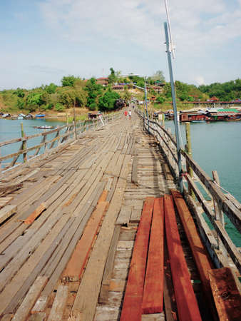It is the longest wooden bridge in Thailand and it was built for comfortable transportation of people living in Sangkhlaburi and Mon Villagers  Nowadays the bridge is closed for vehicles but you can still walk over the wooden bridge