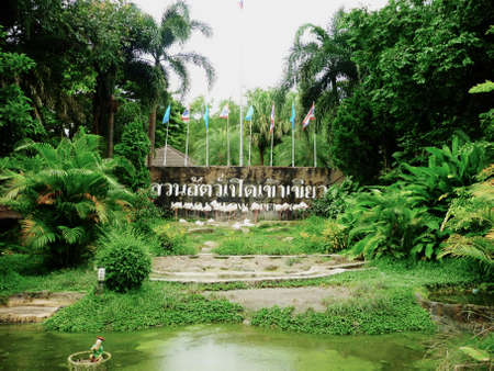 Khao Kheow Open Zoo is very proud to have been chosen to join the Conservation Botanical Project of Princess Maha Chakri Sirindhorn, the third child of Their Majesties the King and Queen of Thailand
