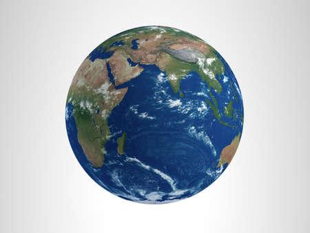 hi resolution: Earth 3D Render alta resoluci�n