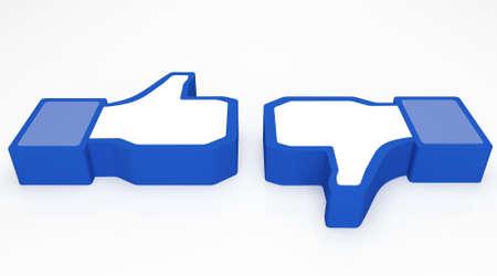 thumbsup: Social media facebook thumbs-up
