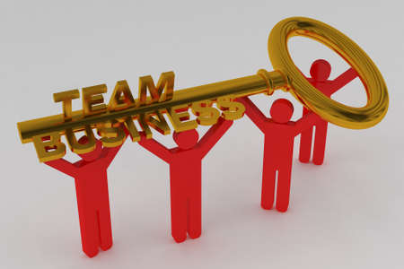 Gold Key To Business Success photo