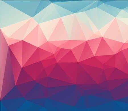 Abstract triangle illustration