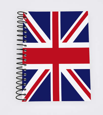 British Flag Book covered  photo
