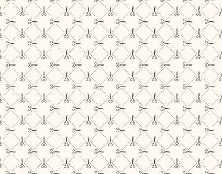 Vector seamless pattern Modern stylish texture Repeating abstract background  Vector